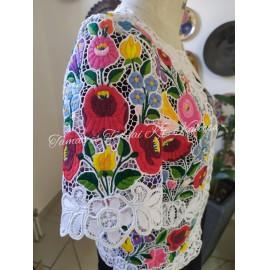 Cifra pamukos rövid ujjú riselt kabátka